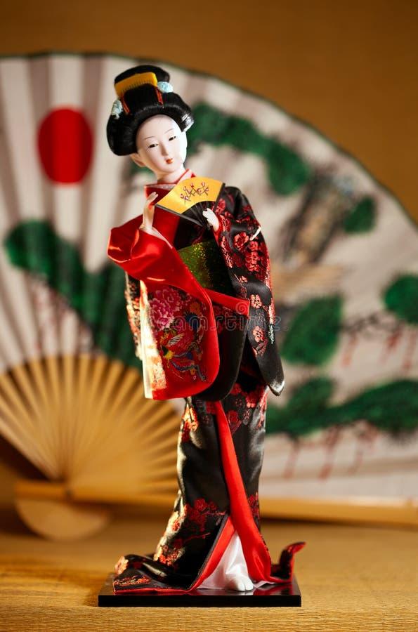 Bambola del geisha immagini stock