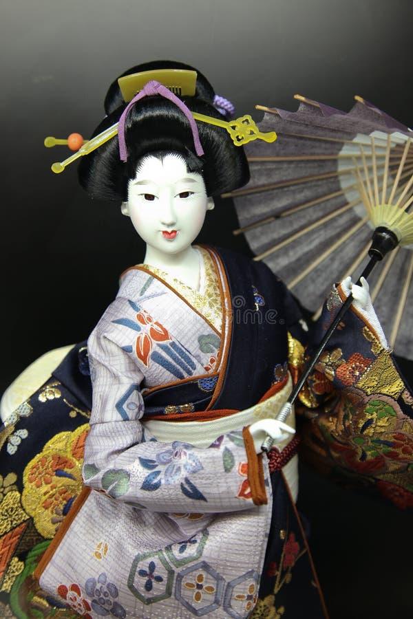 Bambola del geisha fotografia stock libera da diritti