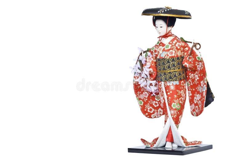 Bambola del Giappone fotografia stock libera da diritti