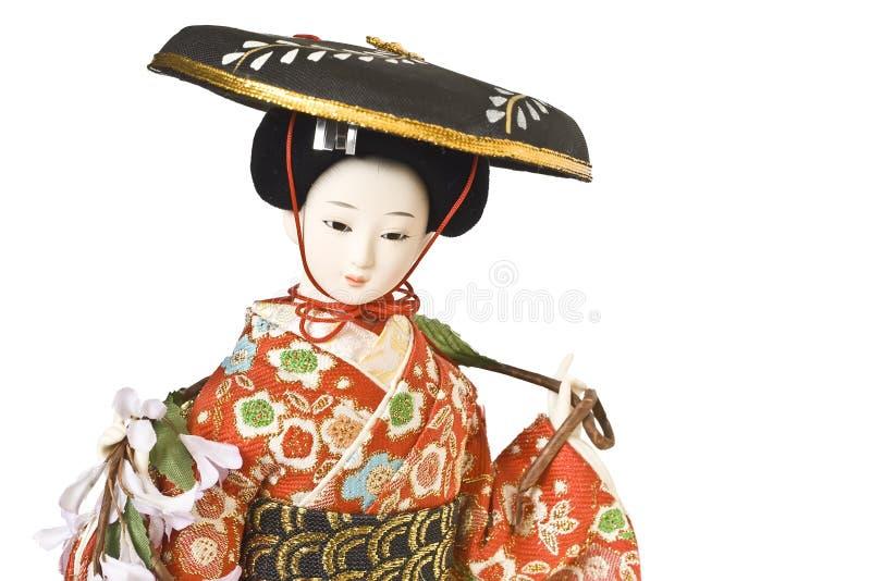 Bambola del Giappone immagini stock