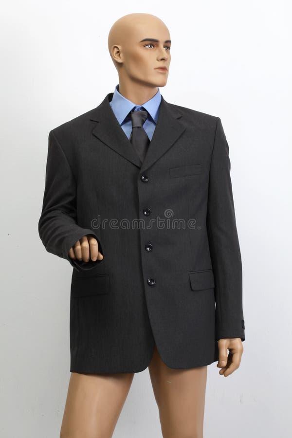 Bambola del maschio dell'uomo d'affari immagine stock