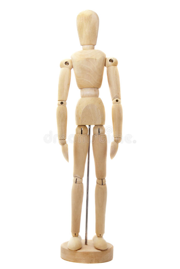 Bambola di legno immagini stock libere da diritti