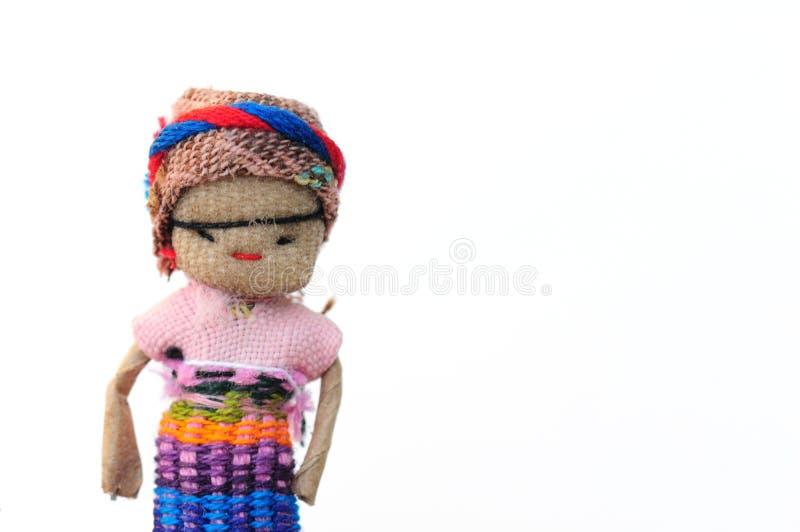 Bambola di preoccupazione immagini stock