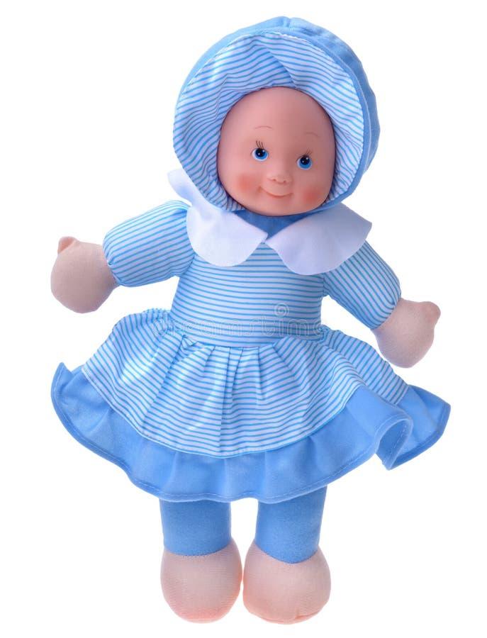 Bambola di straccio, bambola del tessuto immagine stock