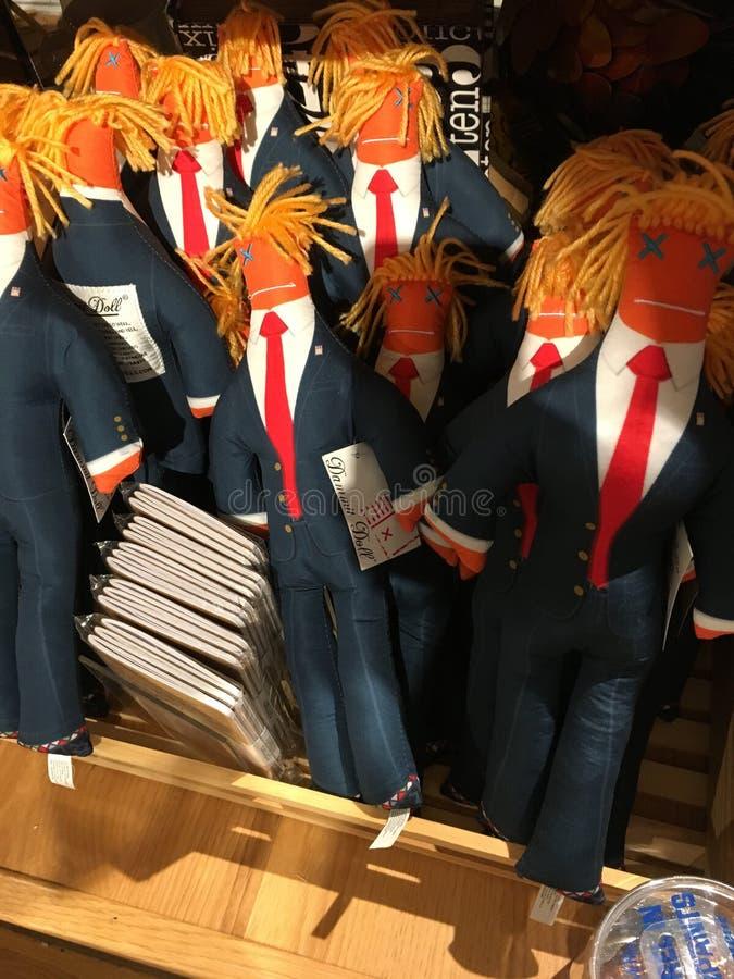 Bambola di Trump fotografie stock libere da diritti