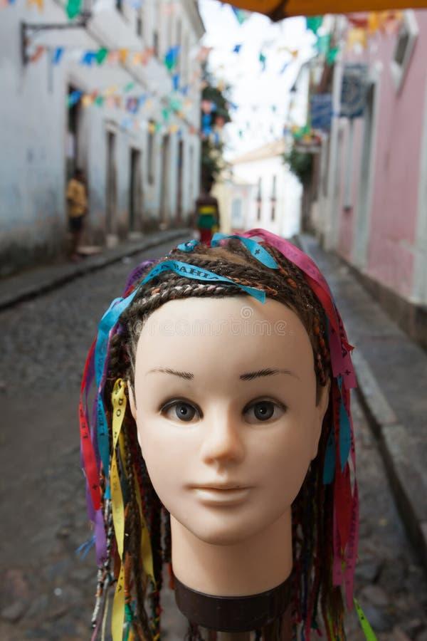 Bambola in Pelourinho immagini stock libere da diritti