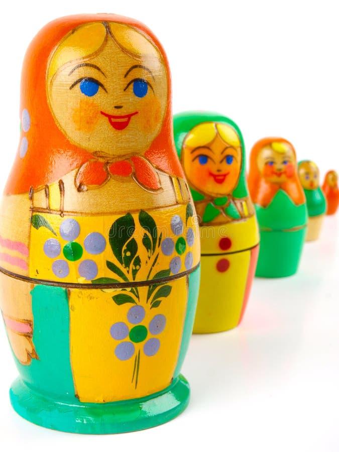 Bambola russa di incastramento fotografie stock libere da diritti