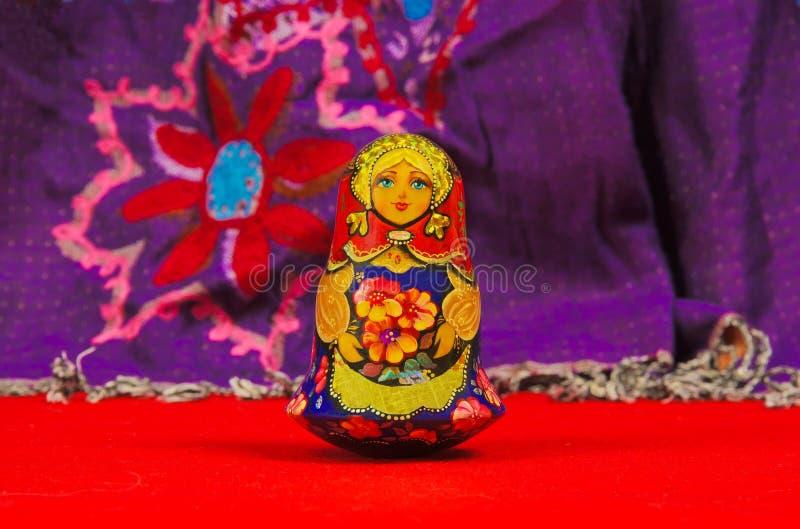 Bambola russa, matriochka immagini stock