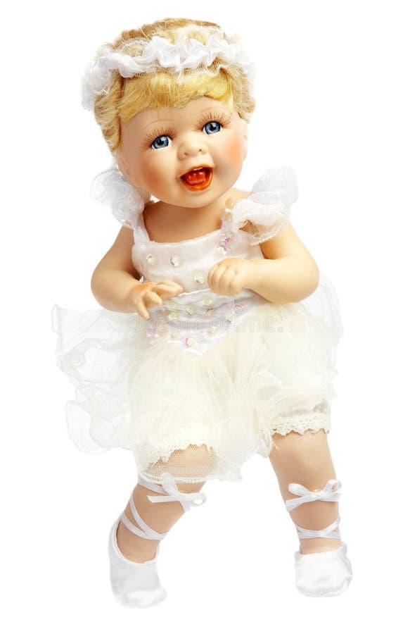 Bambola in un vestito della sposa immagine stock libera da diritti