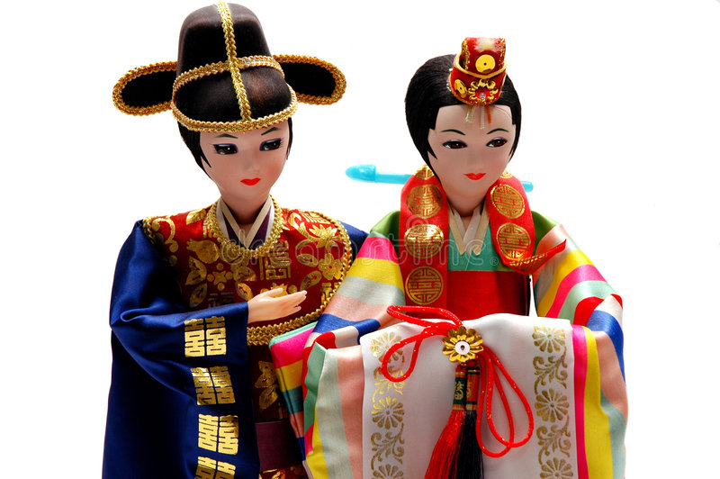 Bambole immagine stock