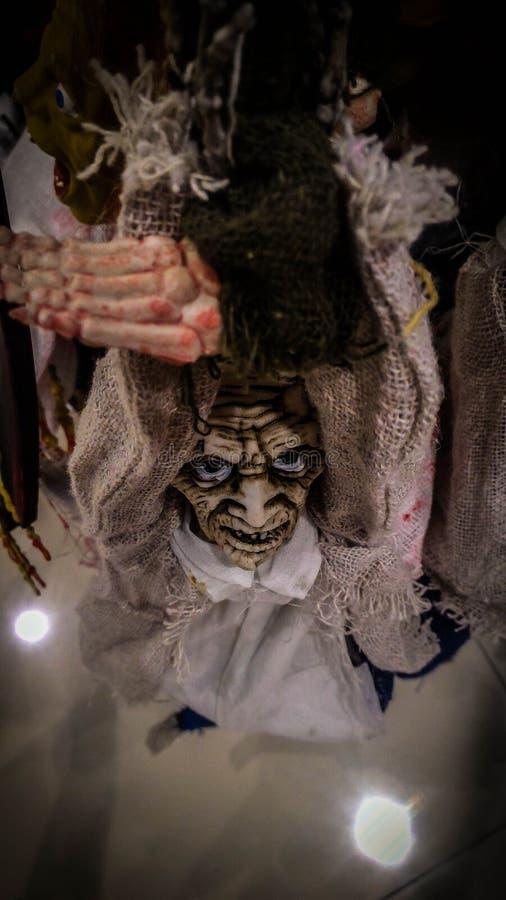 Bambole dello zombie di Halloween fotografia stock