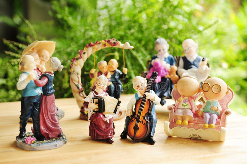 Bambole di ceramica fotografie stock libere da diritti