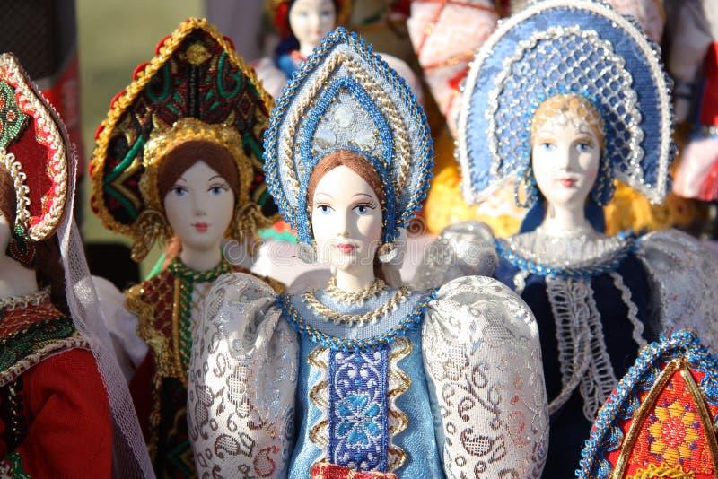 Bambole russe immagine stock libera da diritti