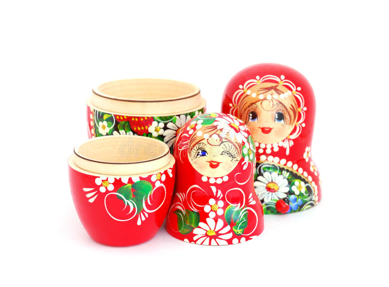 Bambole russe di incastramento immagine stock libera da diritti