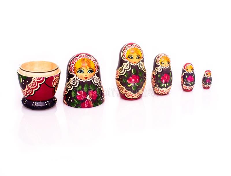 Bambole russe di incastramento immagini stock
