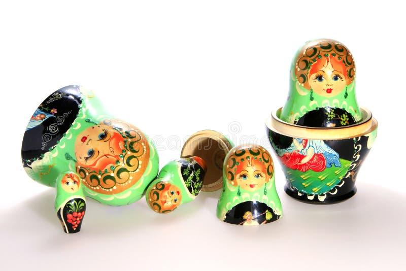 Bambole russe di matryoshka fotografia stock