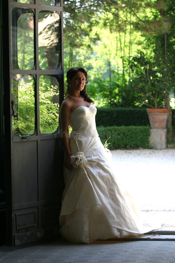 Bamboletta della sposa fotografie stock