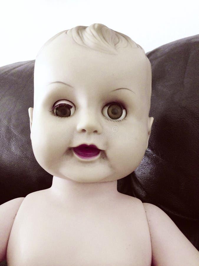 Bamboletta terrificante fotografia stock libera da diritti