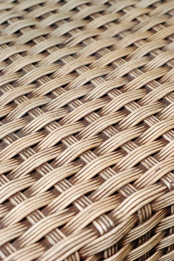 bamboo бежевая сплетенная текстура стоковая фотография