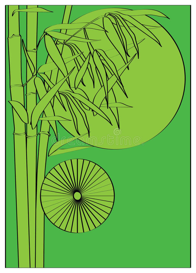 Bamboo вал Стоковая Фотография RF