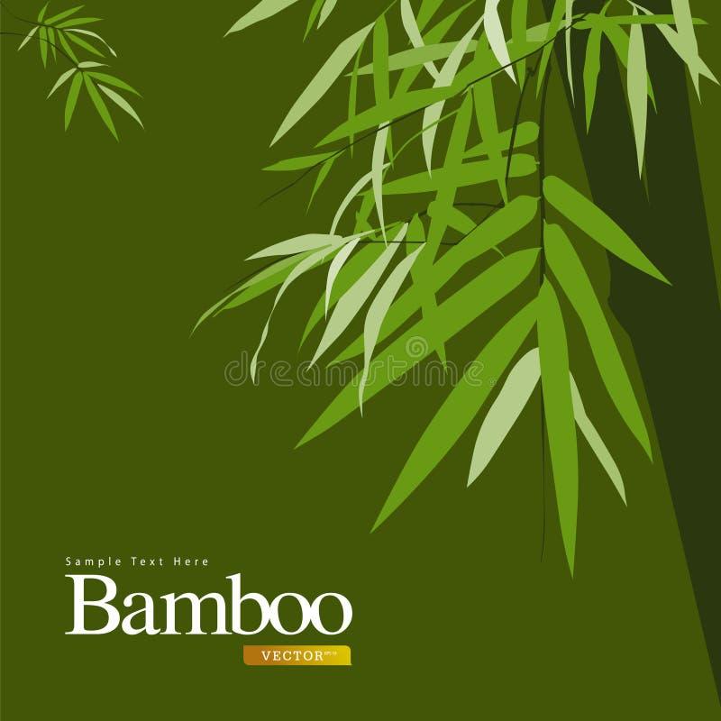 bamboo зеленый вектор иллюстрации бесплатная иллюстрация