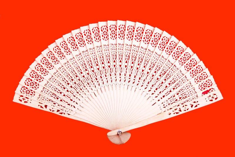 bamboo китайский вентилятор иллюстрация штока