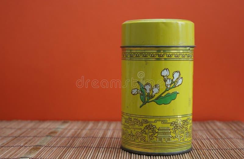 Download Bamboo китайское олово чая циновки Стоковое Фото - изображение: 650556