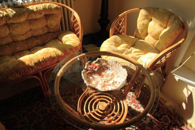bamboo мебель стоковые изображения