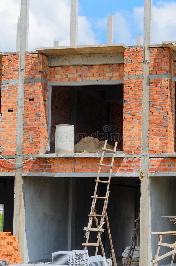 Download Bamboo место лесов конструкции Стоковое Фото - изображение насчитывающей инфраструктура, высота: 41656320