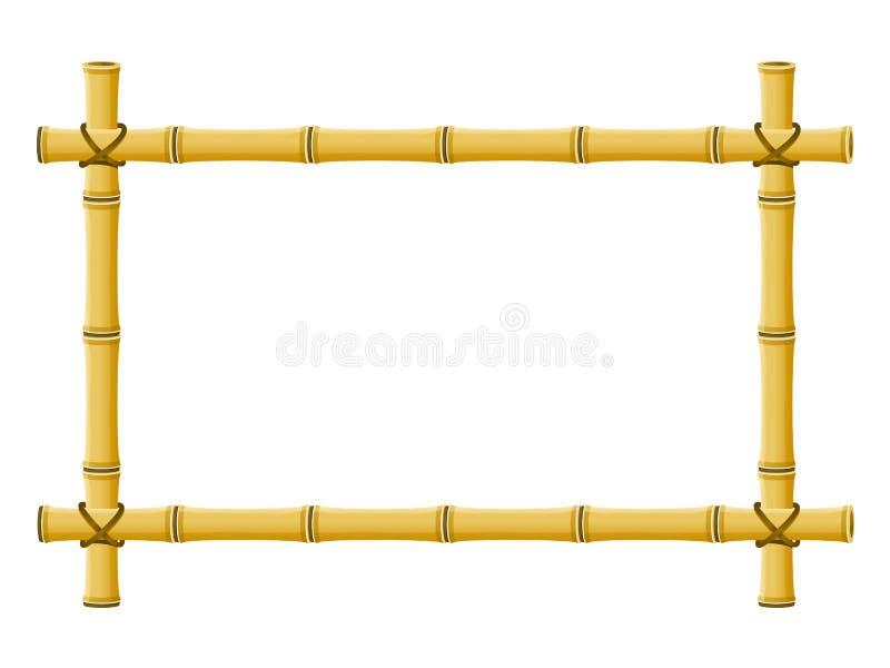 bamboo рамка иллюстрация штока