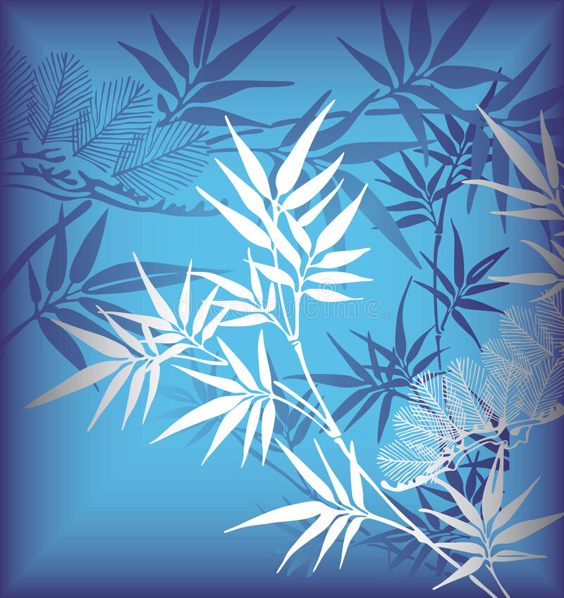 bamboo сосенка иллюстрация штока