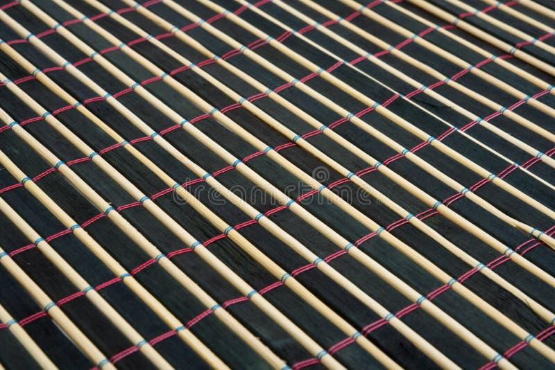 bamboo таблица ткани стоковые фото