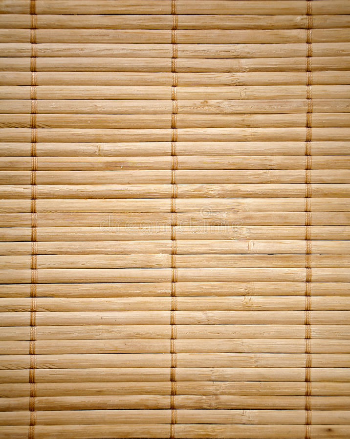 bamboo текстура циновки стоковое фото
