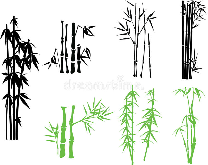 Download Bamboo stock vector. Image of background, china, flora - 14314133