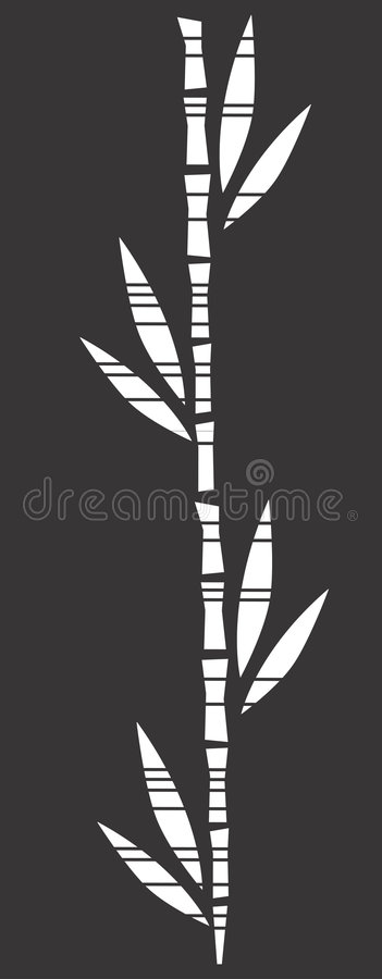 Bamboo royalty free illustration