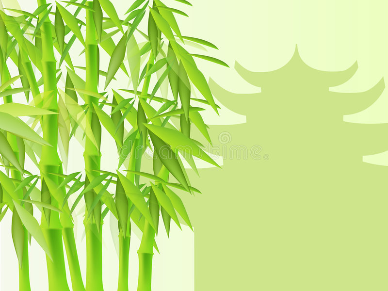 Download Bamboo stock vector. Image of graphics, forest, abstract - 2438824