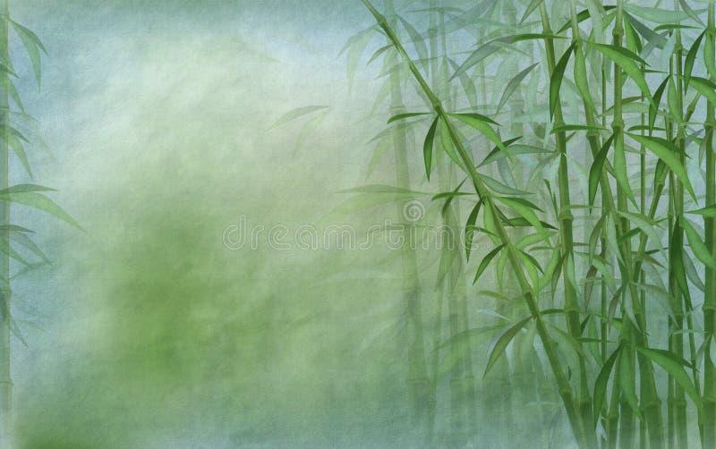 Bamboo background royalty free illustration