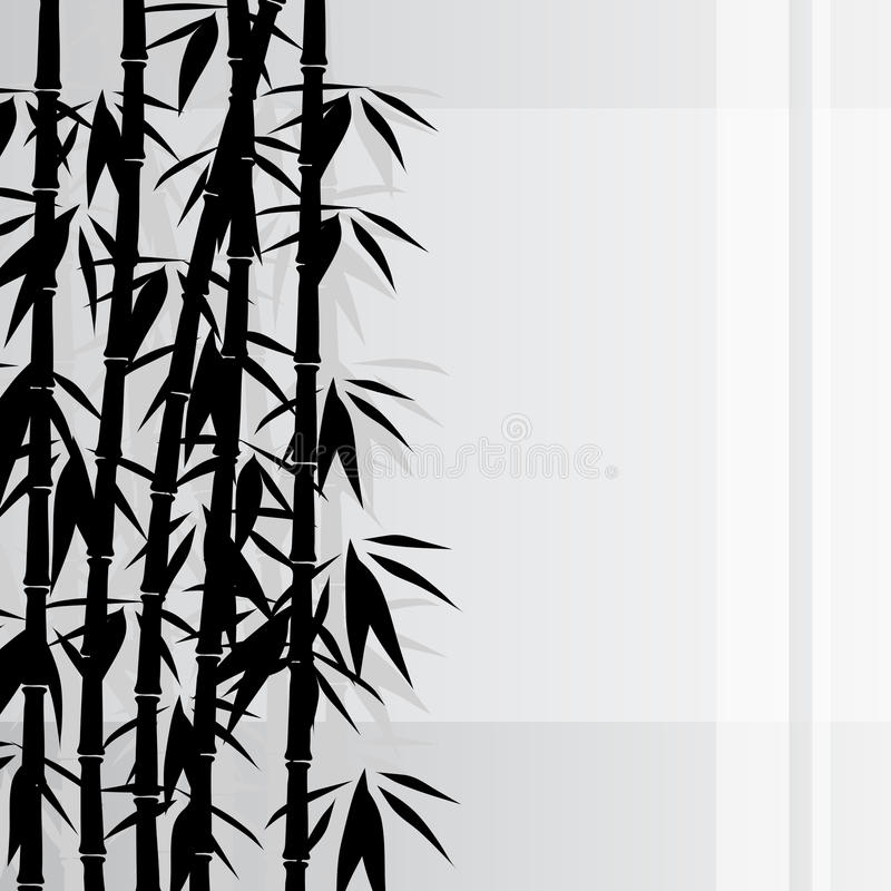Download Bamboo background stock vector. Image of growth, japanese - 28531145