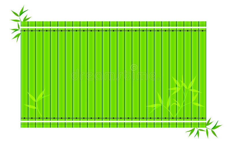 Bamboo background (Vector) royalty free stock image