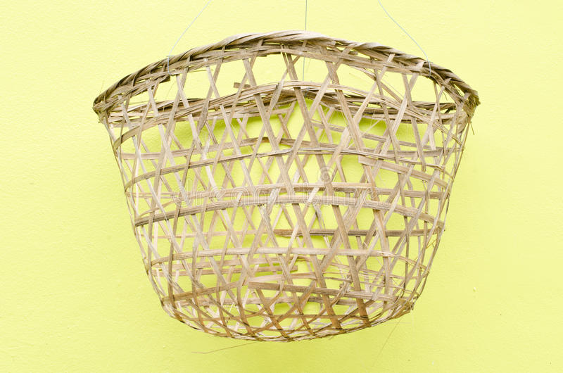 Download Bamboo basket stock photo. Image of bamboo, crate, craft - 25297162