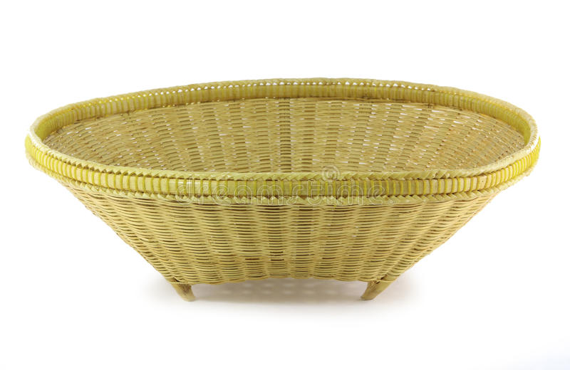 Download Bamboo basket stock image. Image of bamboo, bright, bowl - 25400643