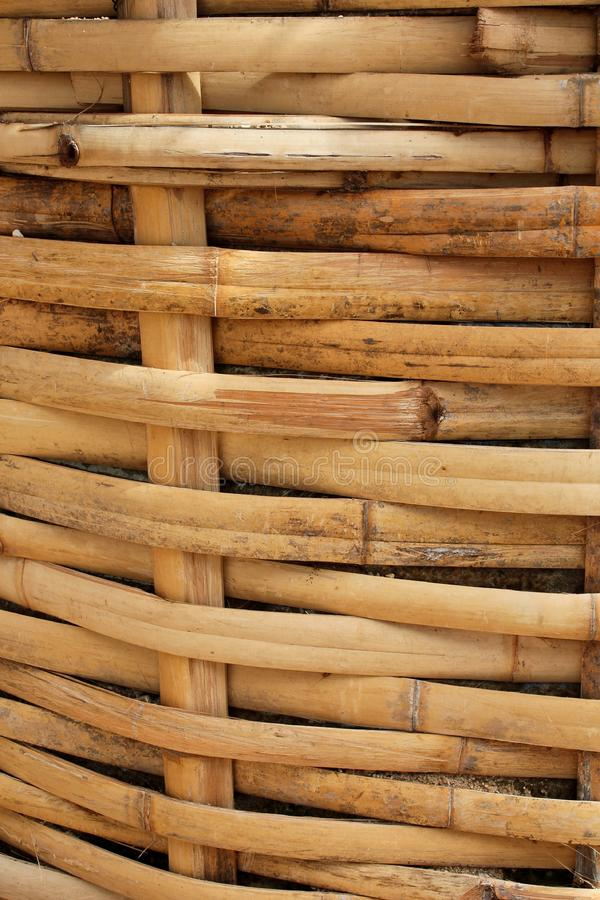 Download Bamboo Basket, Bamboo Weave Pattern Stock Photo - Image of material, bamboo: 15445792