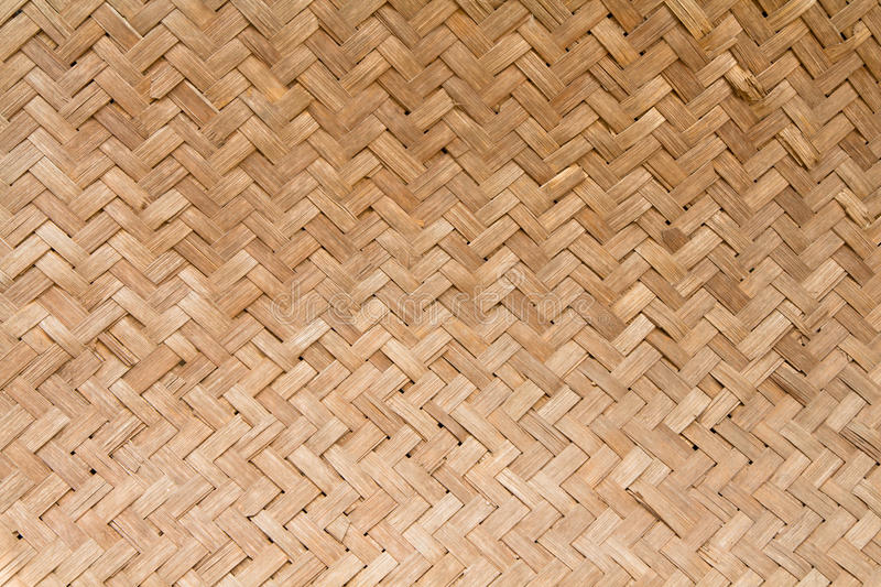 Bamboo Basketry. Texture details of Bamboo Basketry stock photography
