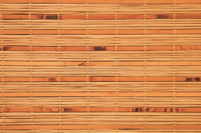 Bamboo blinds. As background and texture royalty free stock photos