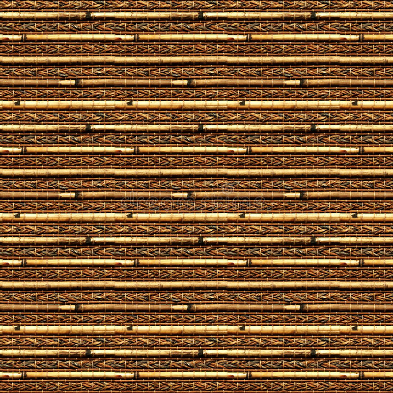 Bamboo blinds. Seamless texture of bamboo blinds royalty free stock photo