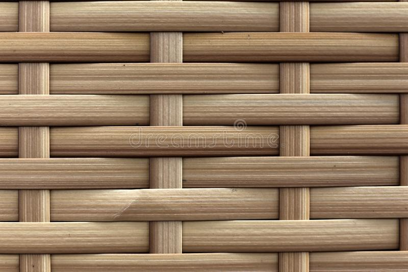 Bamboo brown straw mat. Bamboo brown straw mat, abstract background wicker composition royalty free stock images