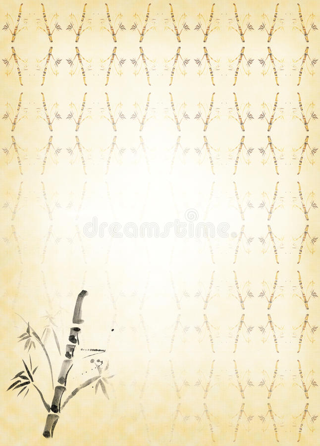 Free Bamboo Carelessly Drawn Stock Image - 15896951