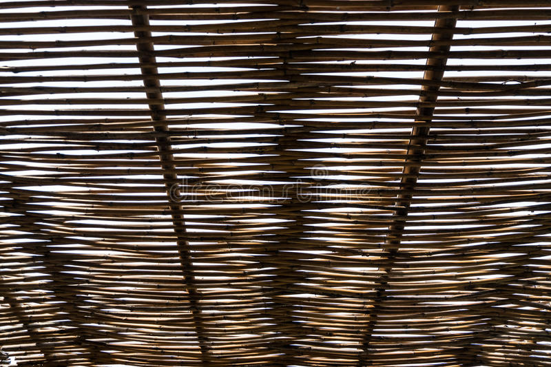 Ceiling Roof Decoration Slat Wooden Stock Photo Image Of