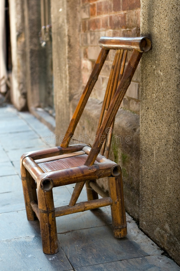 Download Bamboo chair stock photo. Image of handworked, little - 6185690