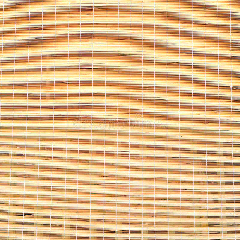 The bamboo curtains stock photography